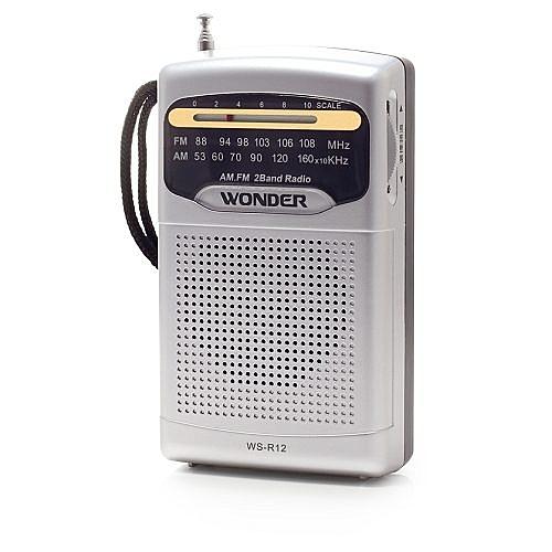 ^聖家^WONDER 旺德AM/FM收音機 WS-R12【全館刷卡分期+免運費】