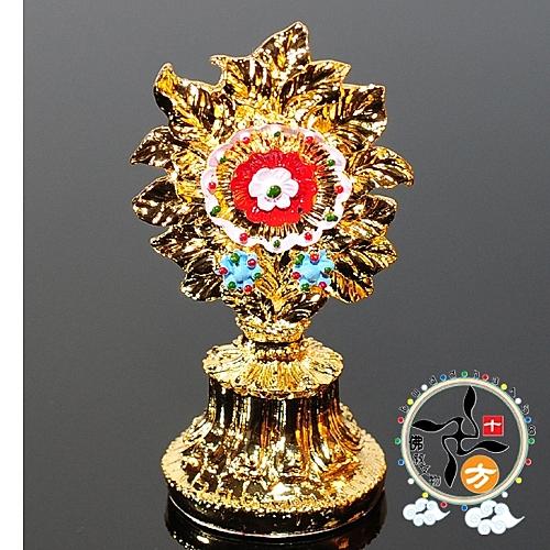 八供多瑪+八供花(可裝臟)銅合金【十方佛教文物】