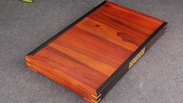 [協貿國際]酸枝木香道禮儀盤紅木香道托盤