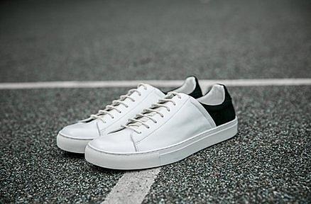 日系高品質時尚前後拼接低幫 低跟休閒鞋 板鞋