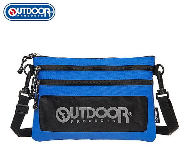 OUTDOOR - 旅遊配件-橫式隨身包-藍色 ODS18L02BL