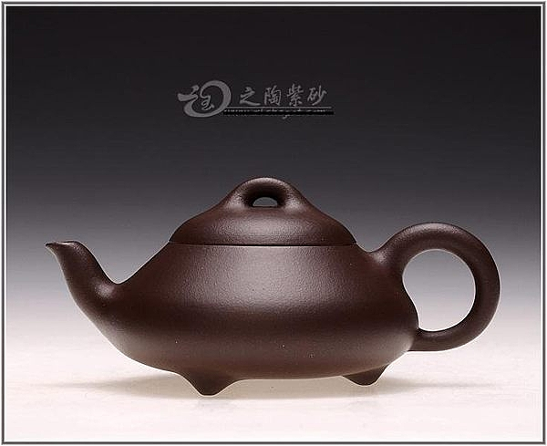 原礦紫泥茶壺茶具150CC小品三彎漢堂石瓢