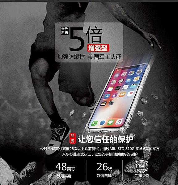 【軍事級 四角防摔】Apple iPhone X XS Xs Max 防摔殼 空壓殼 氣墊殼 軟殼 保護殼 背蓋殼 手機殼 透明殼