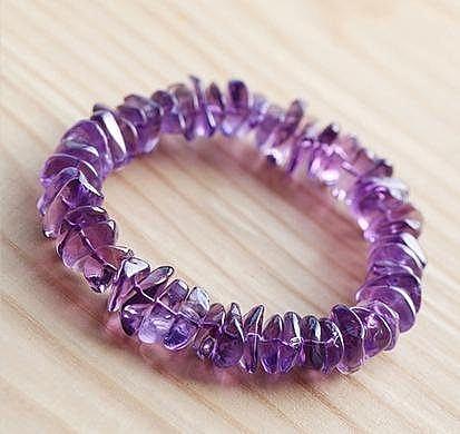 紫水晶手鏈 13MM 36克
