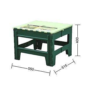 【百合休閒摺合桌 55X51.5X40公分 】604466烤肉桌【八八八】e網購