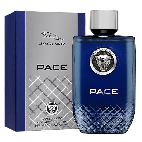 【Jaguar】PACE 自信捷豹 男性淡香水 100ml
