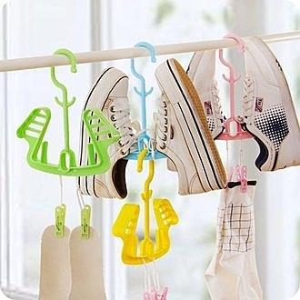 韓版多用活動式曬鞋架 創意曬鞋架 晾鞋架 晾曬架 掛鉤  鞋子 襪子 ◄ 生活家精品 ►【L017】