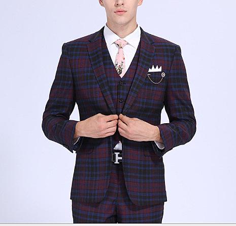 (45 Design) 7天到貨整套西服男 修身士小西裝 韓式潮男款西裝 韓版 伴郎 尾牙 喜宴 新郎