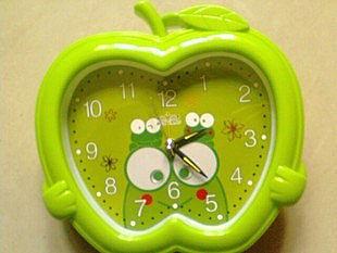 鐘表 蘋果 花型 喜洋洋 時尚簡約