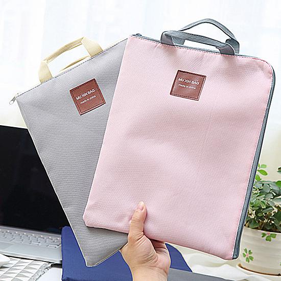 電腦包 資料帶 手拎 手提袋 簡約 多用途 休閒 大容量 A4文件收納手提包 【P575】生活家精品