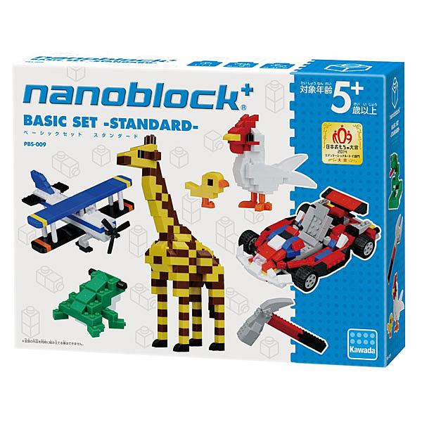 【日本 Kawada 河田】Nanoblock 迷你積木 基本組 PBS-009