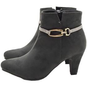 [Michaela La Spada] ブーツ ショート丈 7.0cmヒール 6065