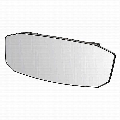 車之嚴選 cars_go 汽車用品【M44】日本CARMATE 黑框八角形加高超廣角曲面車內後視鏡(高反射鏡) 240mm