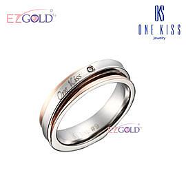 ONE KISS ♥幸福洋溢♥ 鋼飾戒指(女)