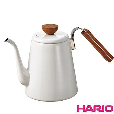 《HARIO》Bona琺瑯細口壺 BDK-80-W 800ml