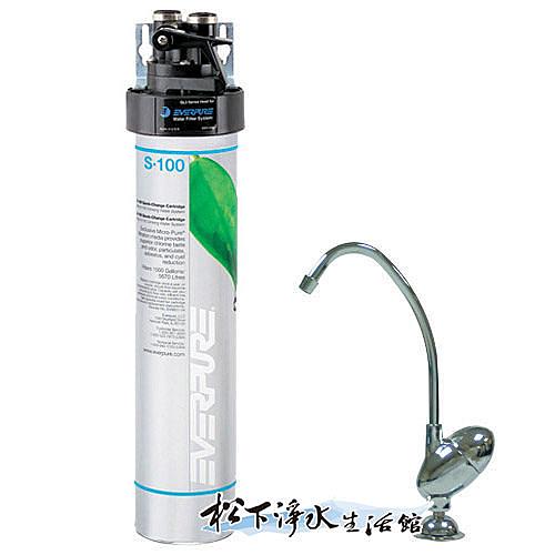 Everpure 愛惠浦家用標準型淨水器(S100)【濱特爾公司貨】