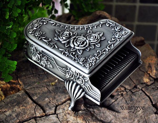 格瑞斯的律動 經典鋼琴異型 歐式公主首飾盒