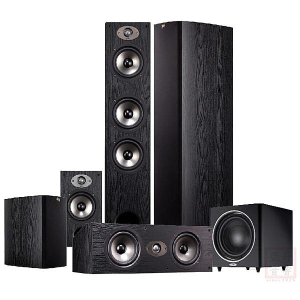 美國 Polk Audio TSx440T 5.1聲道家庭劇院組