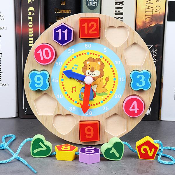快速出貨 幼兒童益智1-2-3周歲男女孩一歲半寶寶智力開發數字拼圖早教玩具