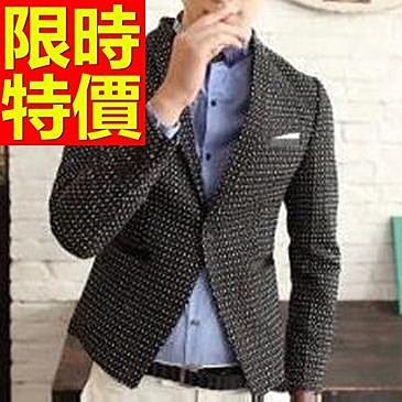西裝外套 男西服(單外套)-簡約日系別緻個性3色59t48【巴黎精品】