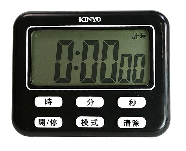 KINYO 電子式24小時大螢幕正倒數計時器 TC-10