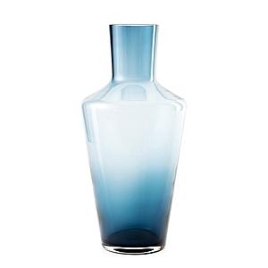 透明花器湛藍30cm