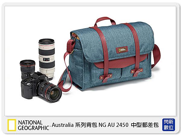 【24期0利率,免運費】National Geographic 國家地理 澳大利亞系列 NG AU 2450 中型 郵差包 (公司貨)