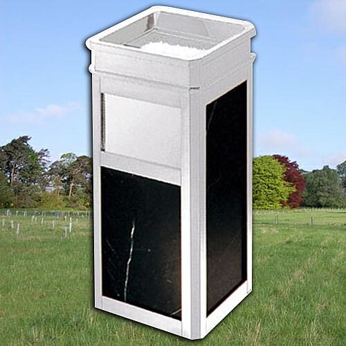 【企隆 圍欄 飯店用品】不銹鋼方型大理石桶/G17S 垃圾桶/菸灰缸/煙灰/置物