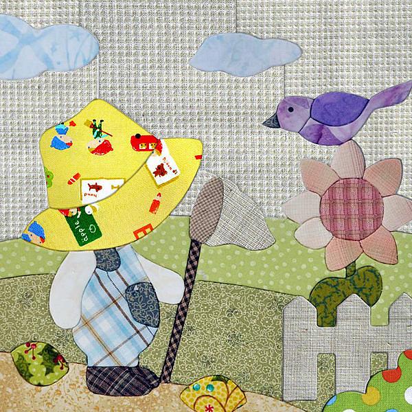 Kiro貓‧3D立體拼布材料包-陽光比利【NS002-A】
