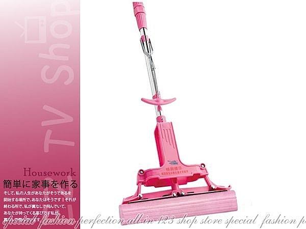 【DX155】日本神膚奇肌『粉紅魔術拖把』比好神好用★EZGO商城★