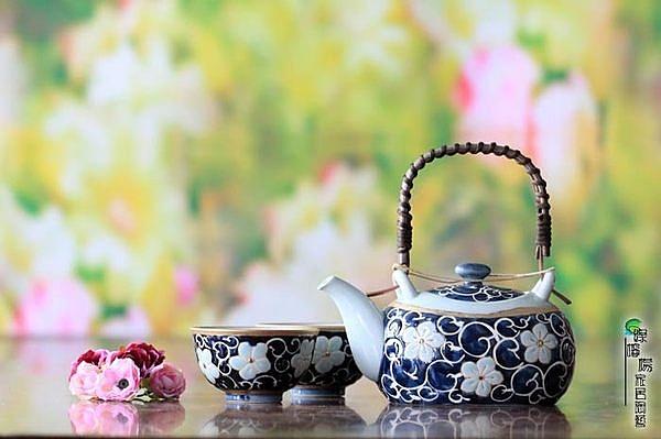唐草桔梗 一福茶器茶具套裝   (一組)