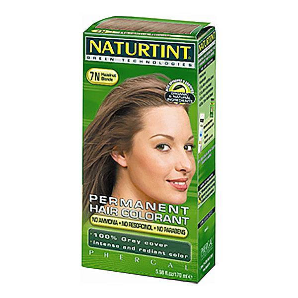 NATURTINT赫本植物性染髮劑7N 亞麻淺棕色