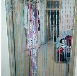 珠簾門簾塑料葫蘆珠子防水晶裝飾防蚊子