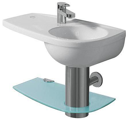 【麗室衛浴】德國 KERAMAG  Joly系列  面盆 左平檯  60*34CM 123060