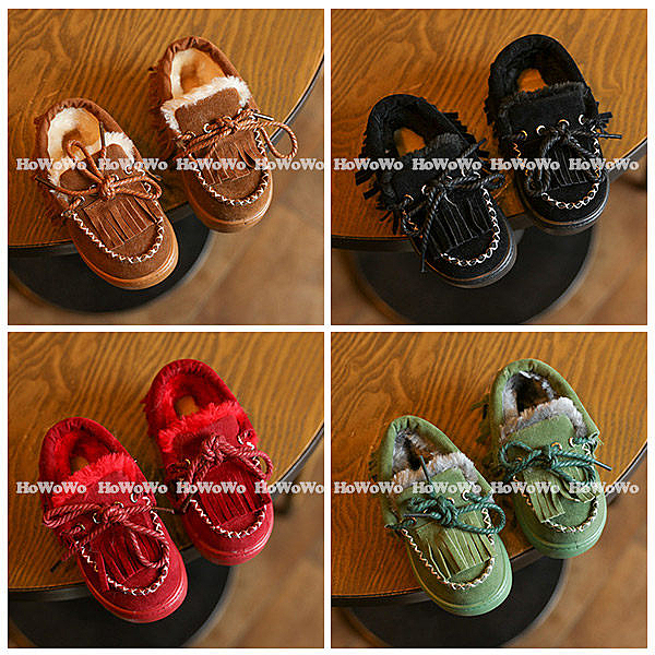 超低折扣NG商品~寶寶鞋  毛毛加厚學步鞋 絨內裡學步鞋 (14-18cm) KL11123 好娃娃