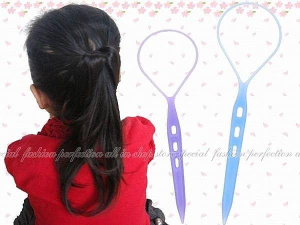 【EI440】編髮器3入(彩色款)-大 YG-805 花樣盤髮器.花樣穿髮棒.編髮棒.髮飾編織器 EZGO商城