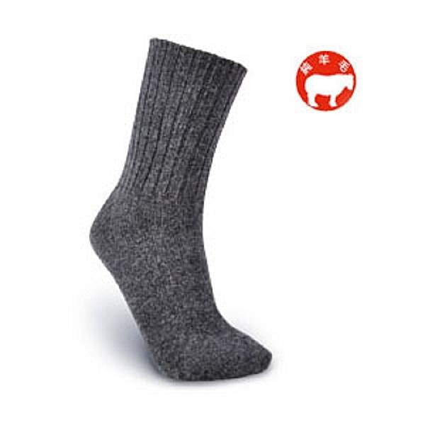 【旅行家】純羊毛半統襪(及膝襪)