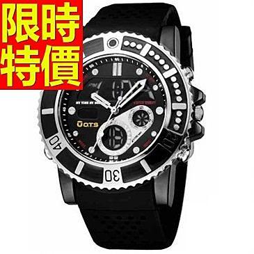 運動手錶-防水有型戶外電子錶5色61ab26【時尚巴黎】
