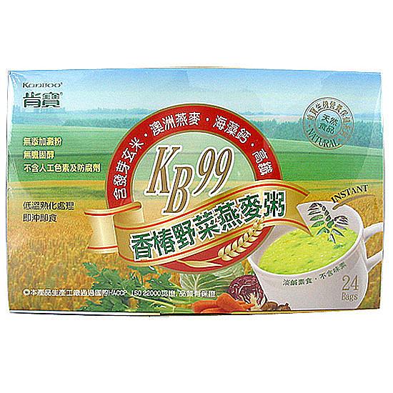 肯寶KB99香椿野菜燕麥粥 24包/盒