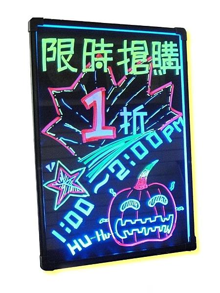 ♢Just-Play 捷仕特♢ JA3-2 直式LED螢光手寫板(小) 廣告板/寫字板/發光板/電子板 40*29