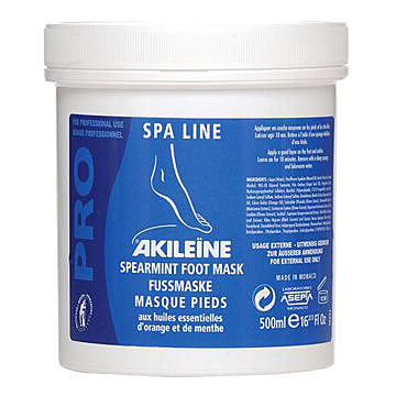 【法國 亞吉妮AKILEINE】水藍輕盈SPA MASK(500ml)♥清涼、清新,舒緩足部肌膚♥