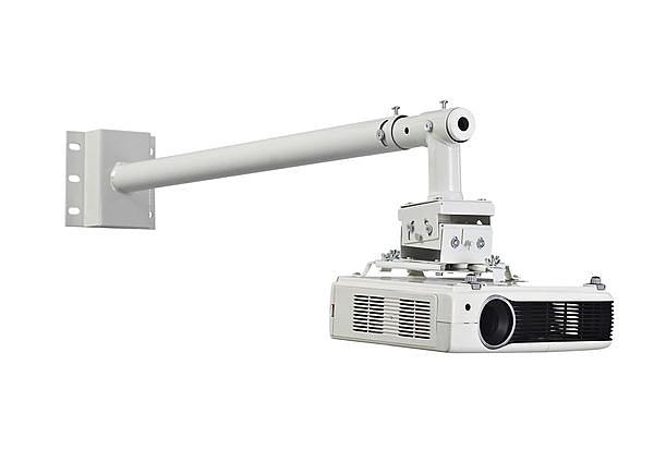 投影機吊架懸臂式可調67cm~113cm壁掛式短焦投影機吊架適用各種機型