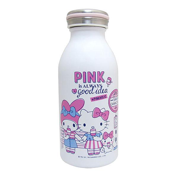 PINKHOLIC 仲夏好朋友真空不鏽鋼保溫保冷瓶350ml(綜合) / 水瓶 / 保溫瓶 KF-5335AL