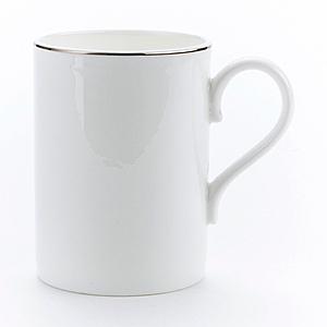 HOLA 緻銀骨瓷馬克杯 線圈 350ml