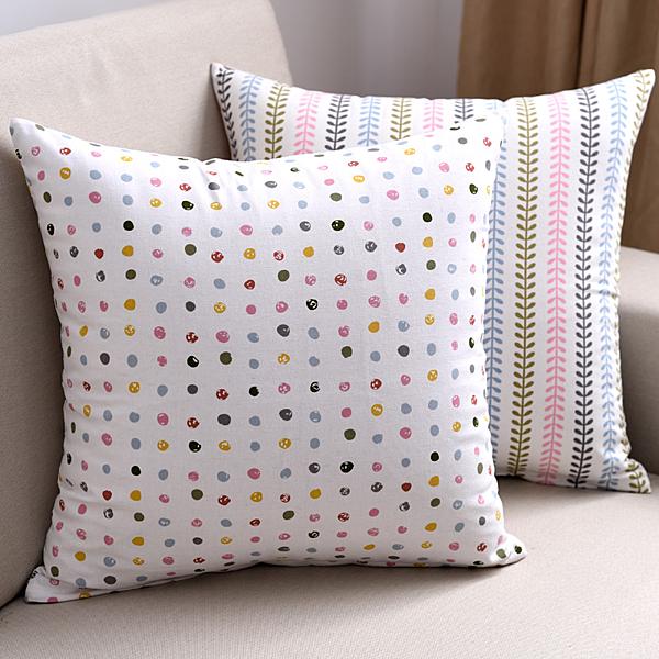 時尚簡約全棉抱枕 靠墊26 沙發裝飾靠枕