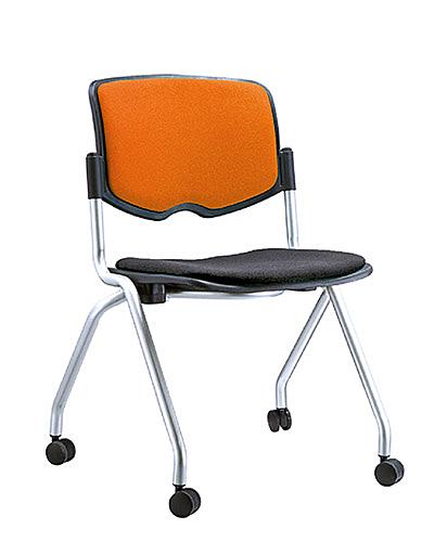 [ 家事達]OA-334-4 培訓上課椅(無扶手)  特價 洽談椅 辦公椅 電腦椅