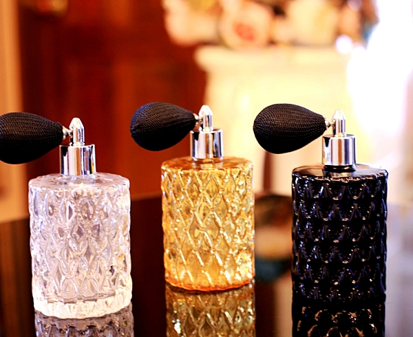 karoli  小圓柱 手工製作香水瓶法式球噴頭 歐州最新流行