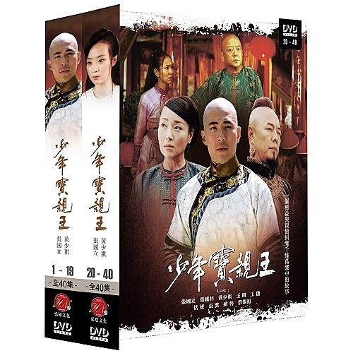 少年寶親王(全) DVD ( 張國立/黃少祺/張默/王豔/恬妞/姚魯/蔡燦得/王剛/張鐵林 )