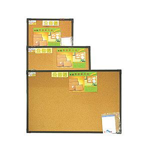 成功SUCCESS 015208 雙面軟木板(中)咖啡框 / 片