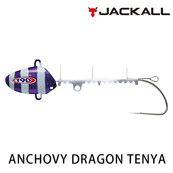 漁拓釣具 JACKALL ANCHOVY DRAGON TENYA 50號 [天亞頭]